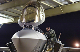 Pilot headed to first F-35 Middle East deployment